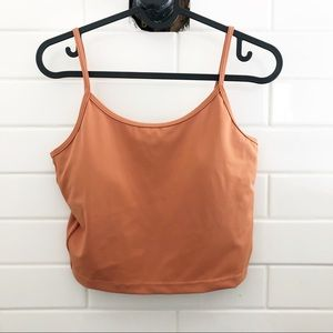 Kortni Jean Latter-Back Top 2.0- color: Cashew